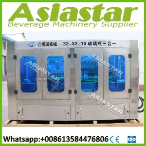 Automatic Beer Bottled Drink Filling Capping Machine Packaging Line pictures & photos