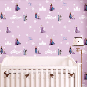 Princess Cartoon Design Kids Washable Wallpaper for Wall Decoration pictures & photos