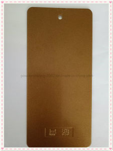 Golden Powder Epoxy Coating with Decorative Properties pictures & photos