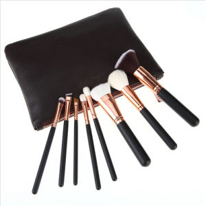 Makeup Brushes Set Cosmetics Professional Essential 8-Piece Make up Brush Kits with Travel Pouch pictures & photos