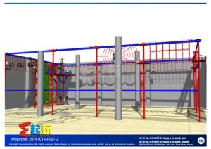 Climbing Frame of Indoor Playground pictures & photos
