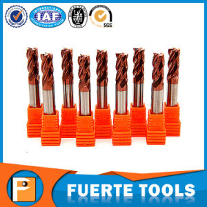 HRC 50 Solid Carbide Endmills for Steel Cutting pictures & photos