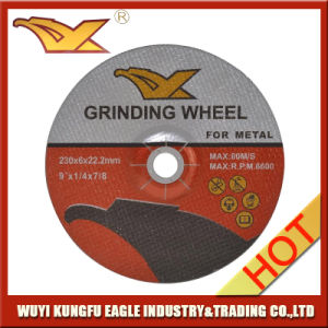 T27 Fiber Glass Reinforced Resionoid Depressed Center Grinding Wheel pictures & photos