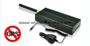 Portable Handheld Anti GPS 1575MHz Tracking Jammer Built in Battery pictures & photos