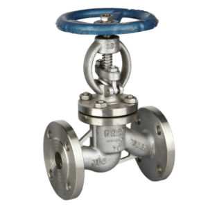 JIS 10k 20k Cast Steel Globe Valve pictures & photos