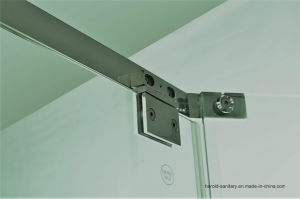 Hr-P050 Diamond Shape Pivot Hinge Shower Door pictures & photos