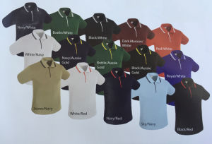 Customized Good Quality Fashion Polo Shirt Golf Sport Shirt (T1104)