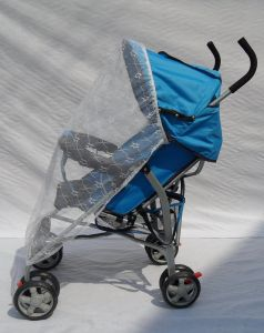 Fold European Baby Stroller with Rain Cover and Foot Cover pictures & photos