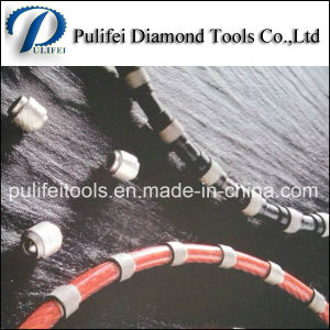 Diamond Wire Rope Saw for Stone Cutting Wire Saw Beads pictures & photos