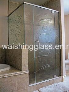 Tempered Bathroom Glass From Manufacturer with CCC/SGS/ISO pictures & photos