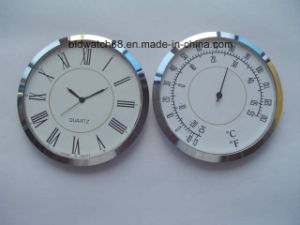 Custom 43mm 60mm Silver Metal Clock Insert for Promotion Gift pictures & photos