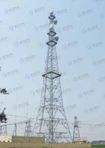 Broadcast Steel Structure Lattice Tower pictures & photos
