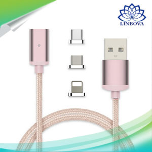 3in1 Data Line Magnetic Cable Micro USB Cable for Apple for Android Type C pictures & photos