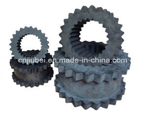 Screw Air Compressor Spare Parts Flexible Rubber Gear Wheel pictures & photos