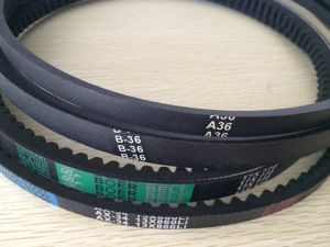 Auto Drive Rubber Cogged V Belt 9.5*725/750/800 pictures & photos