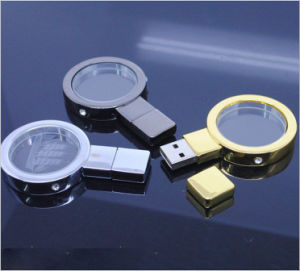 Magnifying Glass Metal Flash Drive pictures & photos