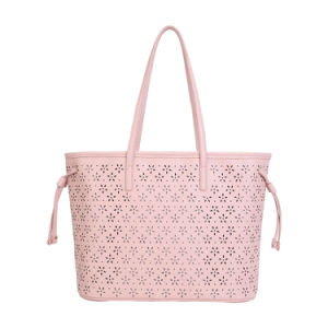 Fashion Hollow out Casual Leather Women Tote Bags (MBNO042096) pictures & photos