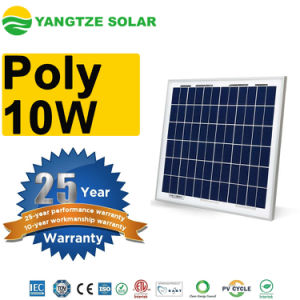 Poly 18V 5 Watt 10W Solar Panel pictures & photos