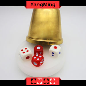Macau Baccarat Dedicated Acrylic Dealer Button Plate Si Bo Poker Table Games Accessories Ym-Di01 pictures & photos