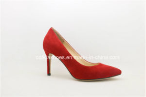 Classic Europe Elegant High Heels Lady Dress Shoes pictures & photos