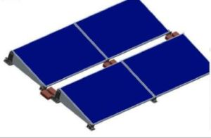 Corrosion Resistance Flat Roof Polymer Solar Mounting Structure pictures & photos