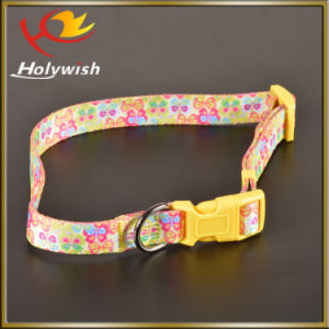 Wholesale Adjustable Retractable Nylon Dog Leash with Print Logo