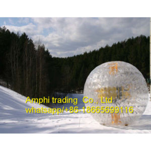 Ce Human Sphere Zorbing Inflatable Human Beach Ball pictures & photos