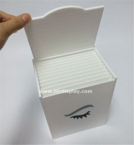 Acrylicplastic Eyelash Box Manufacturer Btr-B7073 pictures & photos