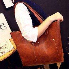 Famous Brand Handbag PU Leather Lady Clutches Composite Casual Tote Bag (BDMC105) pictures & photos