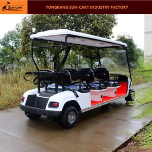 6 Seater Electric Hotel Golf Cart pictures & photos