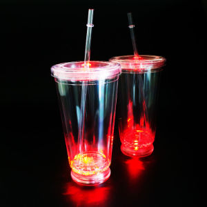 LED Tumbler LED Mug LED Plastic Tumbler Acrylic Tumbler pictures & photos