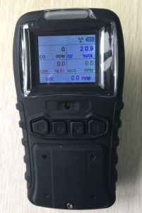 Ce Certified Rechargeable 4 Gas (H2S, CO, O2, LEL) Portable Multi Gas Detector pictures & photos