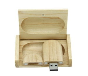 Factory Price Wooden USB with Box 1GB 2GB 4GB 8GB Flash Disk as Wedding Gifts pictures & photos