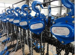 1 Ton Hand Lifting Hoist Chain Block pictures & photos
