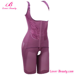 Erogenous Purple Lace Full Body Shaper for Women pictures & photos