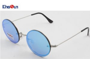 Round Shape Rimless Sunglasses with AC Lens (KS1278) pictures & photos