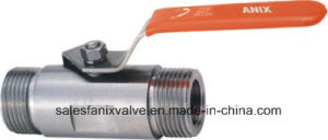 Double Male Ball Valve (bar stock) pictures & photos