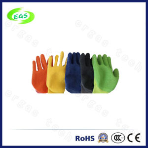 High Quality Seamless Rubber Gloves for Construction Working pictures & photos