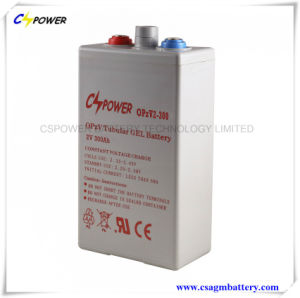 Cspower Opzv 2V 350ah Tubular Plate Gel Deep Cycle Battery pictures & photos