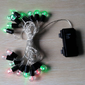2 AA Waterproof Battery Powered Outdoor Home Decorative String LED Romantic Lights pictures & photos