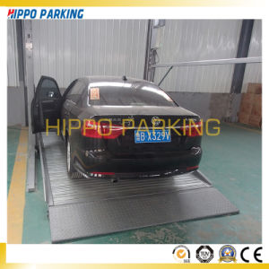 Two Post Parking Car Lift/Two Post Mechanical Parking Stackers pictures & photos