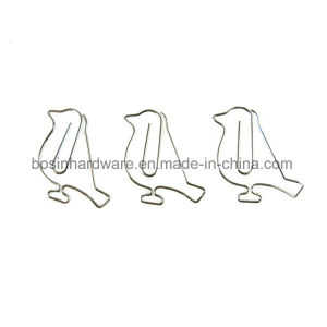 Bird Shape Silver Paper Clips pictures & photos