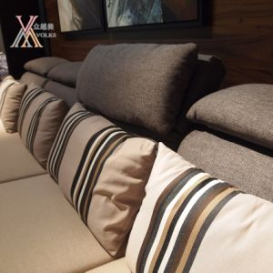 Fabric Sofa with Chaise (995A) pictures & photos