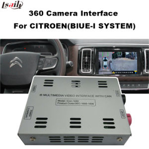 360 Rear View Camera Interface for Citroen-Peugeot-Ds pictures & photos