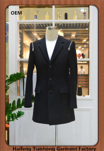 100% Wool High Quality Fabric Men Blazer- Made in China