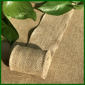 Natural Jute Burlap Hessian Cloth Roll pictures & photos