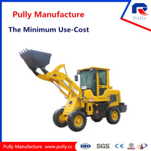 Pully Manufacture Pl916 1.8t Mini Wheel Loader pictures & photos