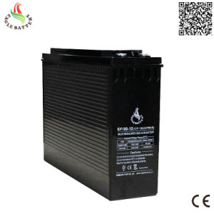 Front Terminal 12V 100ah Mf Lead Acid VRLA Rechargeable Battery pictures & photos