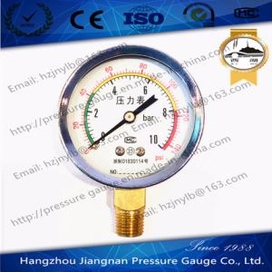 60mm 2.5′′ General Air Pressure Gauge-Dry Pressure Gauge pictures & photos