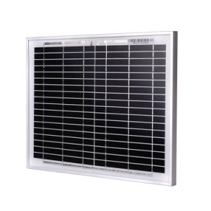 Solar Panel 10W Monocrystalline Silicon 18V pictures & photos